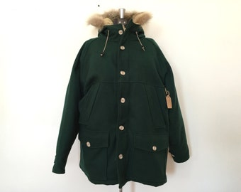 Vintage Woolrich Wool and Down Parka / Large/XL
