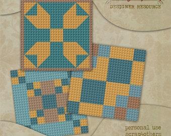 CU Digital Quilt Block Templates Set 2