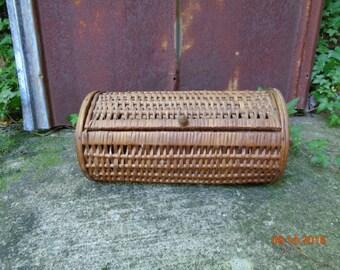 Very Vintage Wicker Basket Box