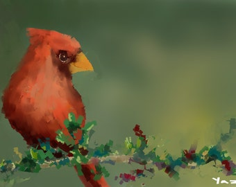 Daily Painting 07- Print of my original illustration