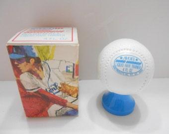 Vintage Avon Sure Winner Baseball (4) Liquid Hair Trainer--Full