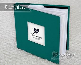 Baby Memory Book - Teal