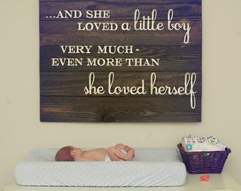 Boy Nursery Sign