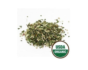 USDA Certified Organic Dried Echinacea Purpurea Herb Leaf Tea Cut Sifted 1-16oz