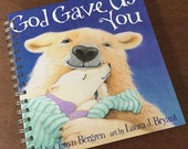 God Gave Us You Recycled Book Journal