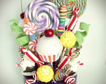 25% off Fake Candy Centerpiece Candy Buffet Decoration