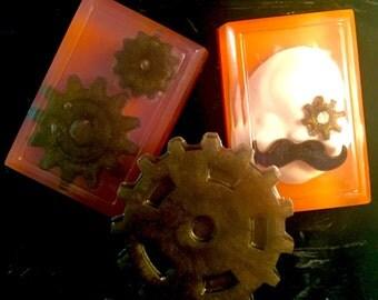 Steampunk Soap Set Body Bar Soaps