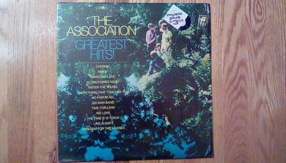Vintage The Association Greatest Hits Vinyl Record Album Pop