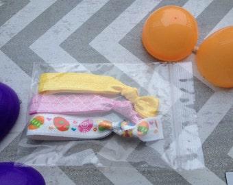Easter Hair Ties/Easter Egg Fillers/Easter Basket gift