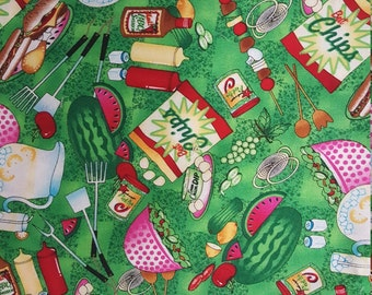 Bar B Que by Nancy J Smith and Lynda S Milligan for Possibilities for Avlyn Fabrics