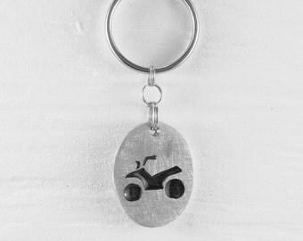 ATV Keychains :. Aluminum - Quand - VTT - Forest - Motorbike - Accessory - Decoration