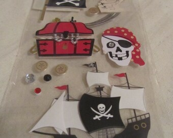 Pirates Booty with Treasure Map
