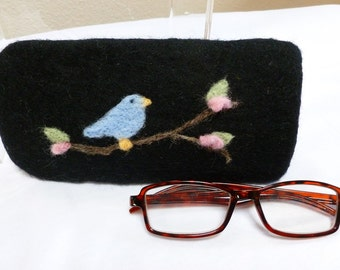 Felted Eyeglass Case