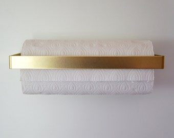 Brass Kitchen Roll Holder