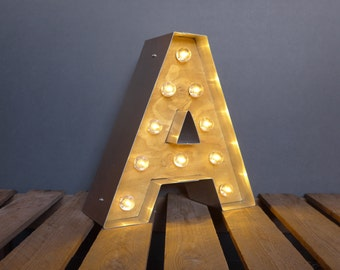 Marquee Light Up Letter
