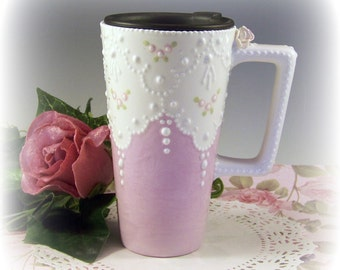 Lace Commuter Mug