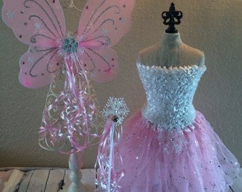 Pink Ice Princess, Frozen Elsa Costume, Frozen Tutu, Elsa Frozen Dress, Ice Princess Costume, Frozen Costume, Frozen, Pink Fairy Costume