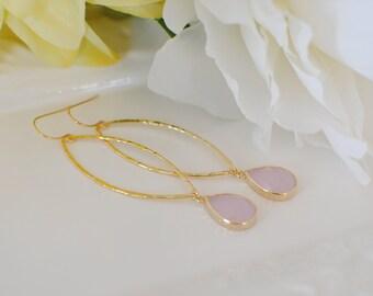 The Georgina Earrings - Pink