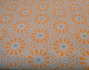 Quilting Weight Cotton Fabric Botanique Web in Butternut designed by Joel Dewberry for Free Spirit 1 yard