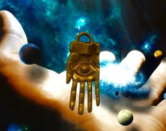 Hand of God - Love Health Wealth Happiness Casino Lotto Money Drawing