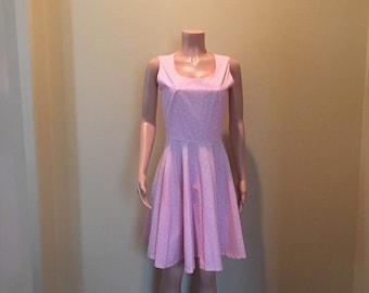 Pretty, Pink Polka Dot Dress
