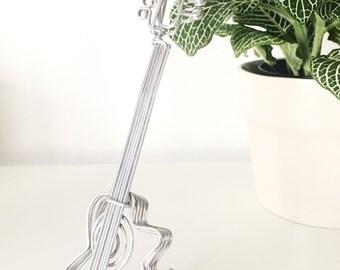 Wire Sculpture Guitar