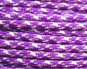 100 ft hank of UV Camo 550 Paracord by E.L. Wood