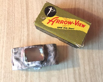 Arrow-View Vintage 35mm Light Up Slide Viewer in Box