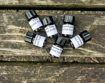 3 Perfume Samples - Choose 3 Perfume Oils to Try