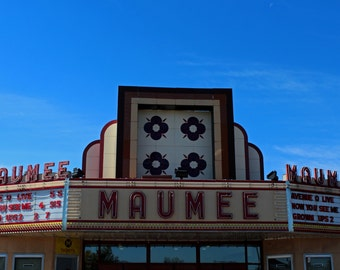 Maumee Theater Marquee II (FREE shipping in the U.S. only)