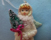 Vintage SNOW ANGEL >*< Victorian Edwardian Christmas >*< Little Girl Angel >*< Old Fashioned Christmas >*< ANGEL >*< Etsy Christmas Shop