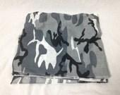 grey army camo bandana