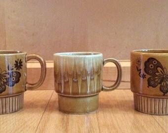 vintage coffee mugs 1970's