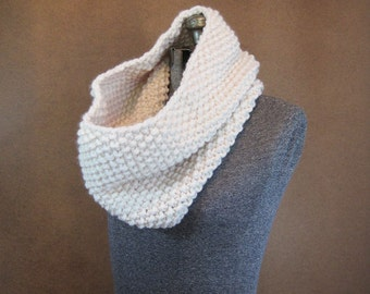 Knit Cowl, Chunky Knit Neckwarmer - The Barnwell - Fisherman