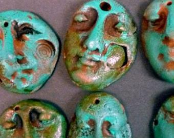 Three MESA VERDE Shard Faces