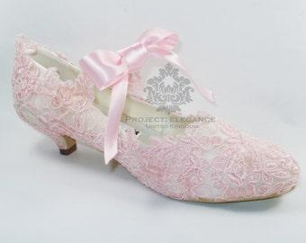 pink kitten heels – Etsy UK