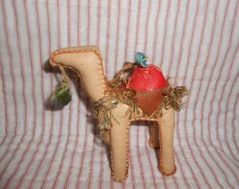 Vintage Camel Christmas Ornament