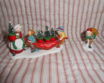 "Dept. 56 ""Delivering The Christmas Greens"" Heritage Village Collection"