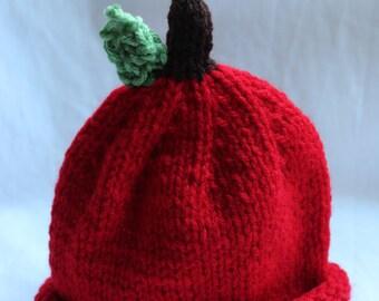 Apple Hat {Infant size}