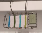 Vintage French Double Section Chrome Bath Bathtub Soap Holder Dish With Adjustable Arm - Space Saving - Fashion Statement for your Bath