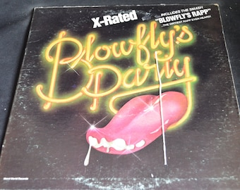 Vintage Vinyl Record Blowfly's Party Album LP-2034