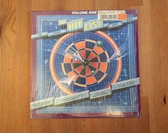 "The Hit List Volume Two: Various Artists (1982) Vintage Vinyl 12"" – Tommy Tutone, Frank Zappa, Pat Benatar, The Who, Foreigner, Van Halen"