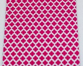 100 6x9 Hot Pink Quatrefoil Poly Mailers