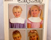 Simplicity Girl's Dress Collar Pattern 7994-Size
