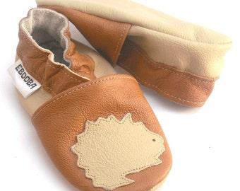 soft sole baby shoes kids children girl gift hedgehog 12-18m  ebooba 31-3