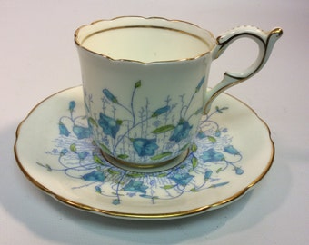 Coalfort Harebelle Demitasse cup and saucer