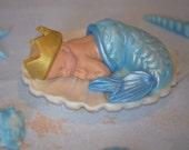 Mermaid baby boy