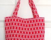 Hot Pink Ovals Mini Tote Bag
