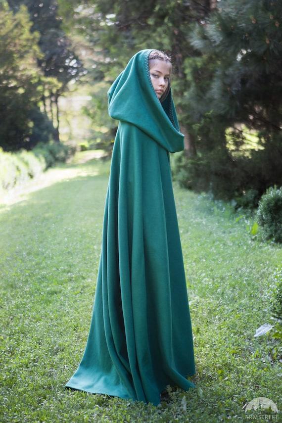 Medieval Wool Cloak Fairy Tale