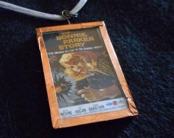 Bonnie Parker Story Movie Poster Necklace